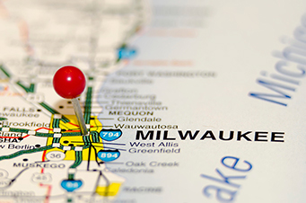 Map of Milwaukee Area